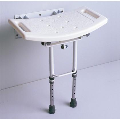 Asiento de Ducha Abatible con Patas (AD538D) - Ortopedia Movernos