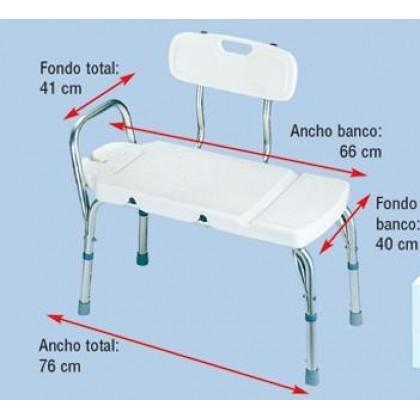 Banco de Bañera (AD539) - Ortopedia Movernos