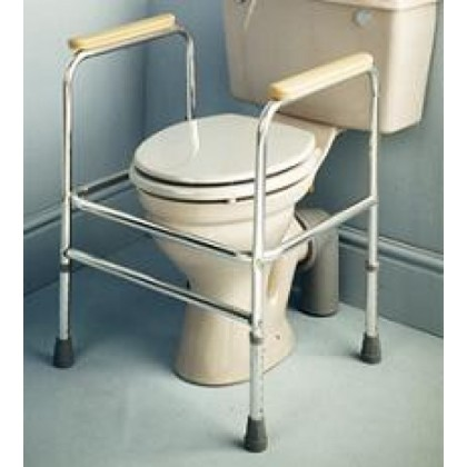 Reposabrazos para Wc de Aluminio (AD501EL) - Ortopedia Movernos