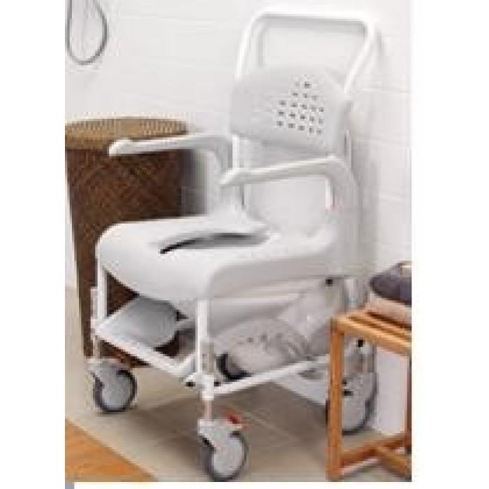 Silla de ducha y wc clean ortopedia movernos for Silla ducha ortopedia