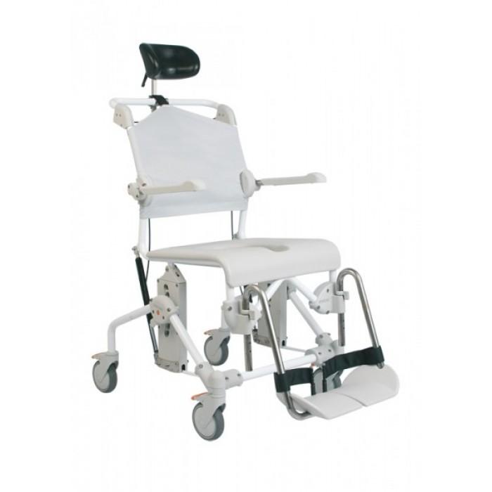 Silla de ducha basculante mobile tilt ortopedia movernos for Silla ducha ortopedia
