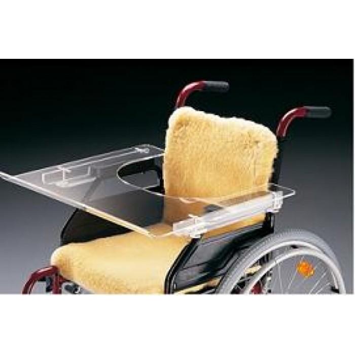 Mesita transparente para silla de ruedas ortopedia movernos - Ortopedia silla de ruedas ...