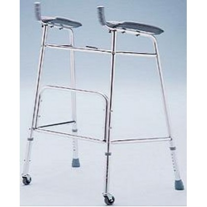 Caminador con Soporte de Antebrazo (AD200RC) - Ortopedia Movernos