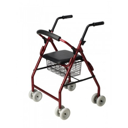 Rollator de Aluminio Roler (AD160) - Ortopedia Movernos
