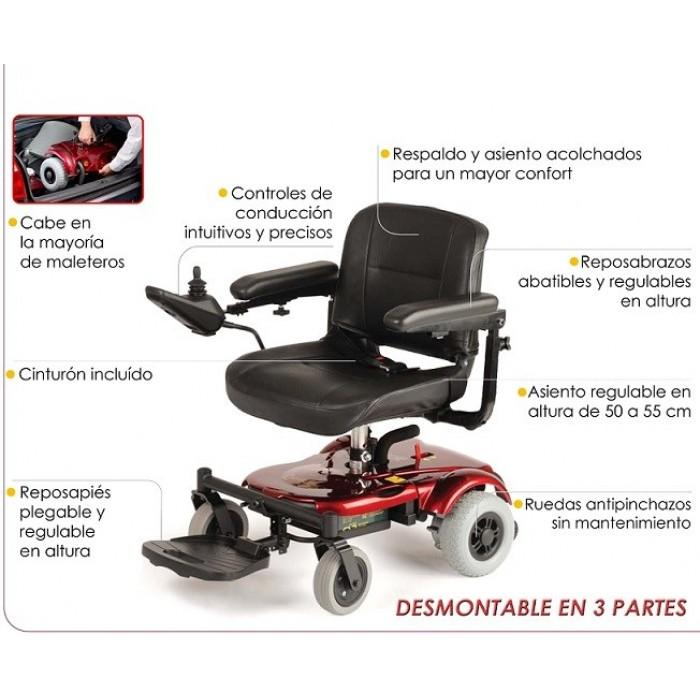 Silla de ruedas el ctrica r120 ortopedia movernos - Ortopedia silla de ruedas ...