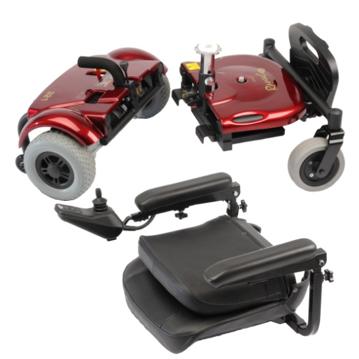 scooter desmontada