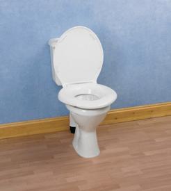 tapa de baño adaptada