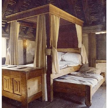 la cama en el siglo xv