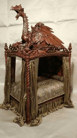 cama en el siglo xvi