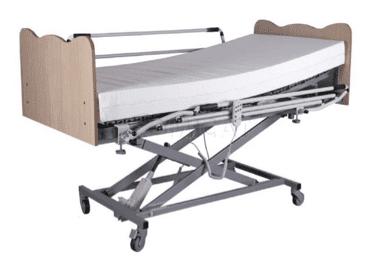 cama articulada con elevador vertical