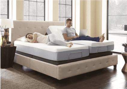 cama articulada doble para matrimonios