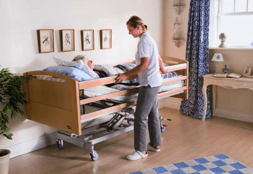 imagen de una cama de hospital