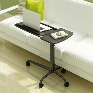 mesa adaptada para sofa