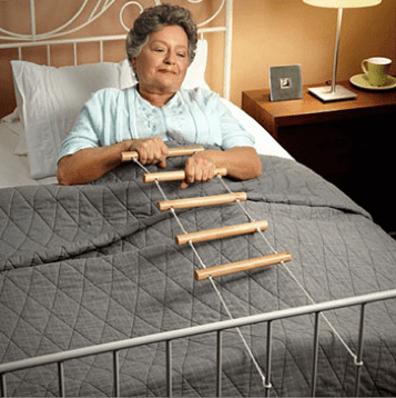 escalerilla para cama