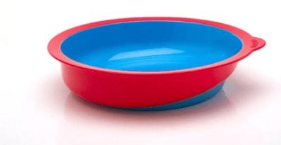 platos con fondo inclinado