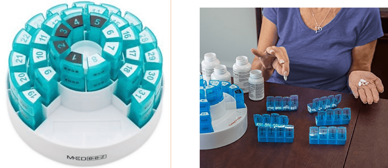 imagen de pastillero mensual