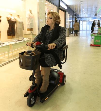 scooter para personas mayores de 3 ruedas