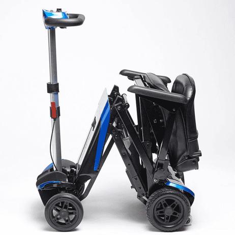 scooter plegable para personas con discapacidad de 4 ruedas