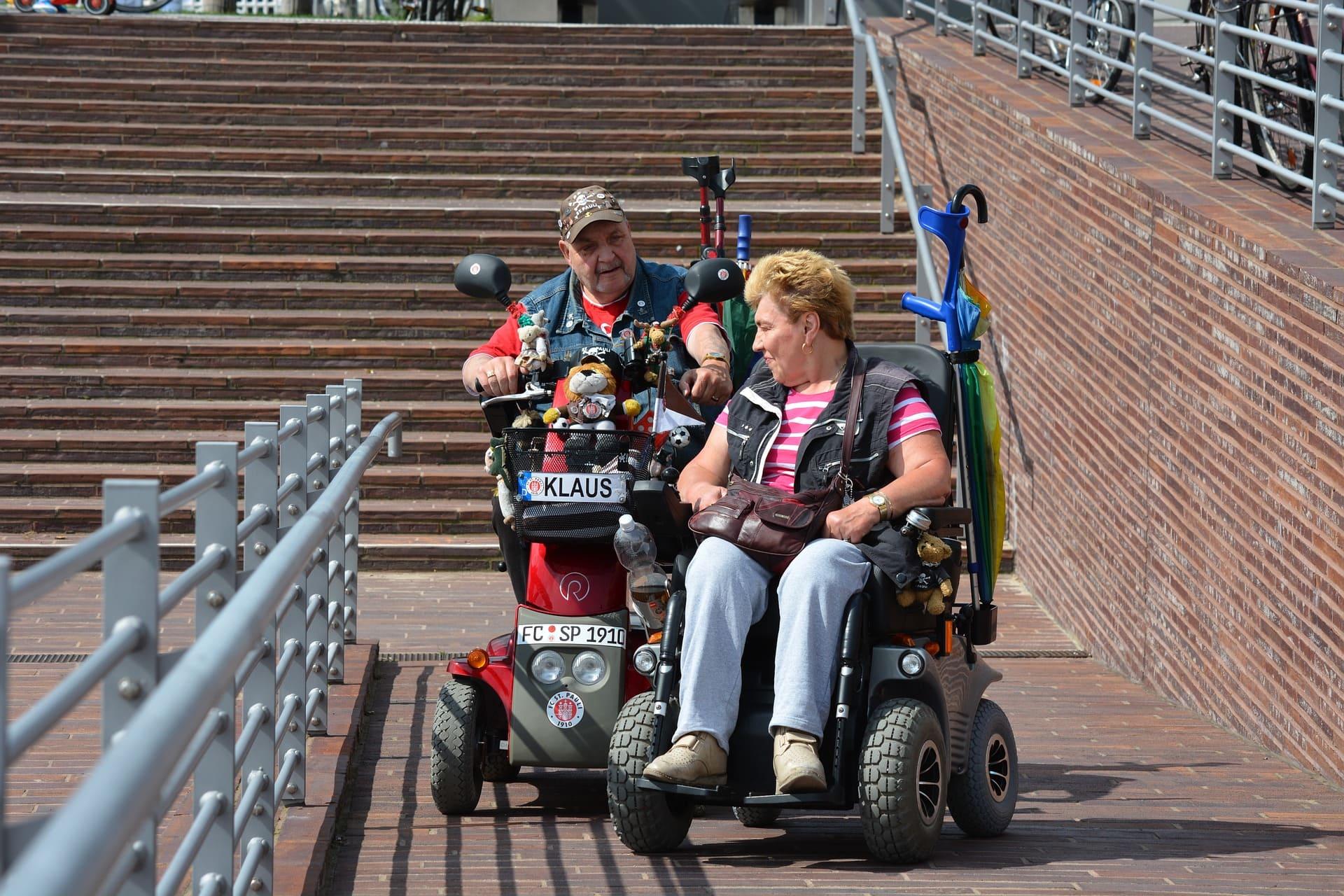 sillas de ruedas electricas para exterior