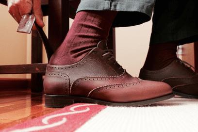 imagen de uso del calzador
