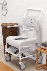 imagen de una silla de baño