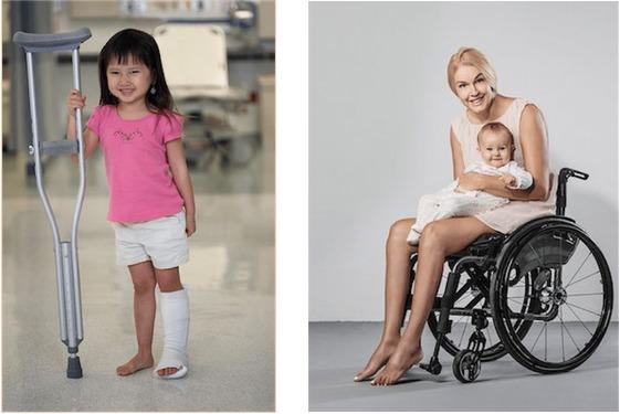 imagen modernas de personas con discapacidad