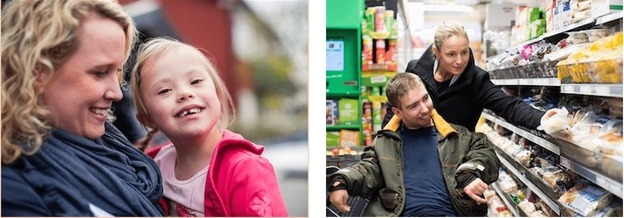 jóvenes con discapacidad en su dia a dia